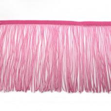 Бахрома на ленте 15 см. Цвет: розовый. Артикул: BKH1-101