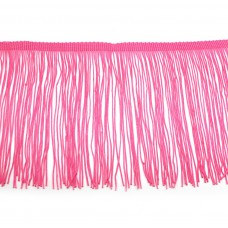 Бахрома на ленте 15 см. Цвет: розовый. Артикул: BKH1-202