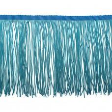 Бахрома полиэстер 15 см. Цвет: бирюзовый. Артикул: P15-1-3