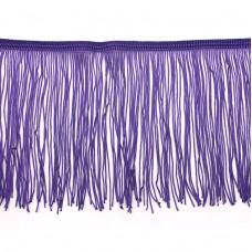 Бахрома полиэстер 15 см. Цвет: фиолетовый. Артикул: P15-1-7