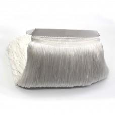 Бахрома полиэстер 30 см. Цвет: белый. Артикул: BKH3-003
