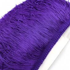 Бахрома полиэстер 15 см. Цвет: фиолетовый. Артикул: P15-10