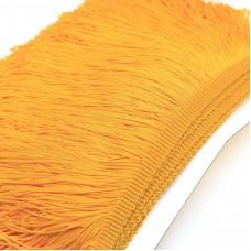 Бахрома полиэстер 15 см. Цвет: желтый. Артикул: P15-6