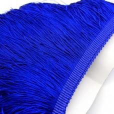 Бахрома полиэстер 15 см. Цвет: синий. Артикул: P15- 8
