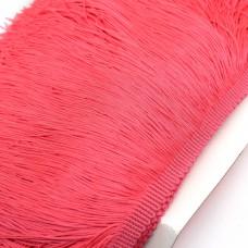 Бахрома полиэстер 15 см. Цвет: розовый. Артикул: P15-9