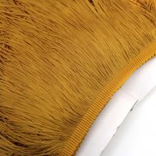 Бахрома полиэстер. 20 см. Цвет: золотой. Артикул: P20-7