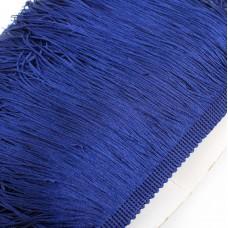 Бахрома полиэстер. 20 см. Цвет: синий. Артикул: P20-11