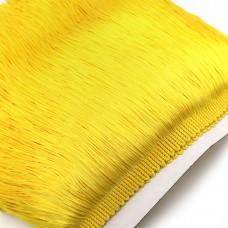 Бахрома полиэстер. 20 см. Цвет: желтый. Артикул: P20-14