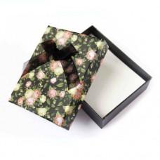 Коробочка подарочная для украшений. Цвет: черный. Артикул: КА-5