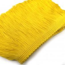Бахрома вискозная. Цвет: желтый. Артикул: BV10-10