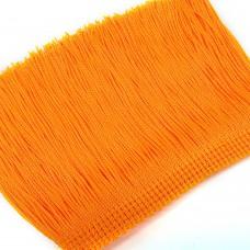 Бахрома вискозная. Цвет: ярко-оранжевый. Артикул: BV10-11