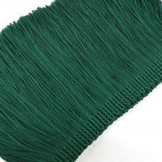 Бахрома вискозная. Цвет: темно-зеленый. Артикул: BV10-15