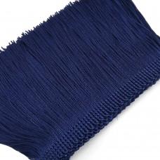 Бахрома вискозная. Цвет: темно-синий. Артикул: BV10-9