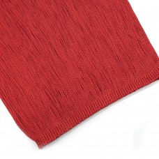 Бахрома вискоза 20 см. Цвет: красный. Артикул: BV20-6