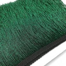 Бахрома металлизированная. Цвет: Темно-зеленый. Артикул: M7