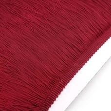 Бахрома нейлон 20 см. Цвет: бордовый. Артикул: BN20-2