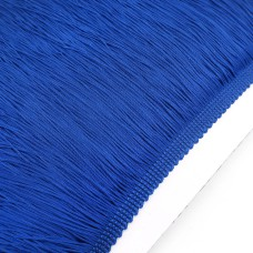 Бахрома нейлон 20 см. Цвет: синий. Артикул: BN20-1