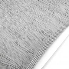 Бахрома нейлон 20 см. Цвет: серый. Артикул: BN20-5