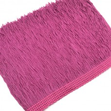 Бахрома вискоза 15 см. Цвет: ярко-розовый. Артикул: BV15-42.