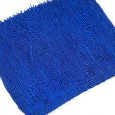 Бахрома вискоза 15 см. Цвет: синий. Артикул: BV15-51.