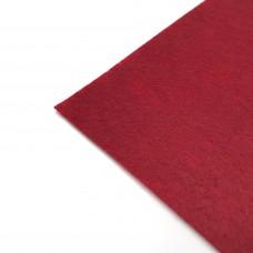 Фетр жесткий, 1 мм. Цвет: вишневый. Артикул: 1.