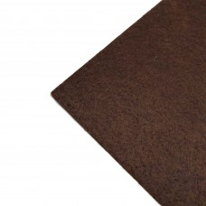 Фетр жесткий, 1 мм. Цвет: шоколадный. Артикул: 10.