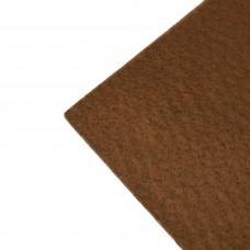 Фетр жесткий, 1 мм. Цвет: коричневый. Артикул: 12.