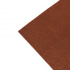 Фетр жесткий, 1 мм. Цвет: темно-рыжий. Артикул: 13.