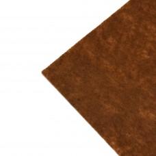 Фетр жесткий, 1 мм. Цвет: рыже-коричневый. Артикул: 14.