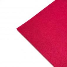 Фетр жесткий, 1 мм. Цвет: клубничный. Артикул: 4.