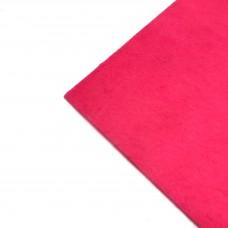 Фетр жесткий, 1 мм. Цвет: ярко-розовый. Артикул: 6.