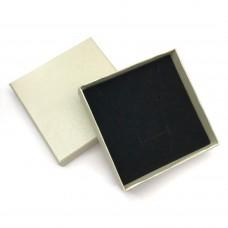 Коробочка подарочная 9х9 см. Цвет: бежевый. Артикул: K9-9-4