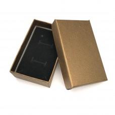 Коробочка подарочная 5х8 см. Цвет: бронзовый. Артикул: K5-8-9