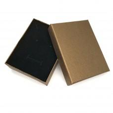 Коробочка подарочная 7х9 см. Цвет: бронзовый. Артикул: K7-9-2