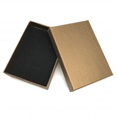 Коробочка подарочная 8х11 см. Цвет: бронзовый. Артикул: K8-11-2