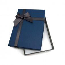 Коробочка подарочная 10х14 см. Цвет: синий. Артикул: 13-0.