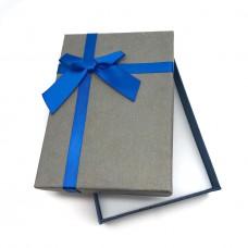 Коробочка подарочная 10х14 см. Цвет: серый. Артикул: 14-0.
