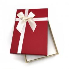 Коробочка подарочная 10х14 см. Цвет: красный. Артикул: 16-0.