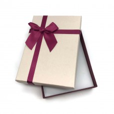 Коробочка подарочная 10х14 см. Цвет: бежевый. Артикул: 17-0.