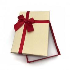 Коробочка подарочная 10х14 см. Цвет: светло-желтый. Артикул: 18-0.