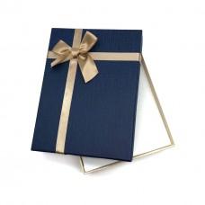 Коробочка подарочная 12х16 см. Цвет: синий. Артикул: 20-0.