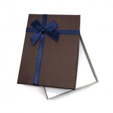 Коробочка подарочная 12х16 см. Цвет: коричневый. Артикул: 21-0.
