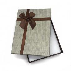 Коробочка подарочная 12х16 см. Цвет: серый. Артикул: 22-0.