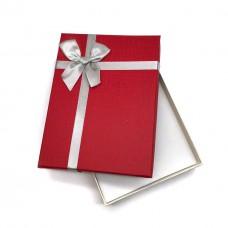 Коробочка подарочная 12х16 см. Цвет: красный. Артикул: 23-0.