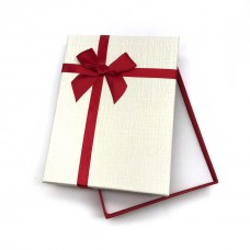 Коробочка подарочная 12х16 см. Цвет: ванильный. Артикул: 24-0.