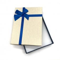 Коробочка подарочная 12х16 см. Цвет: светло-желтый. Артикул: 25-0.