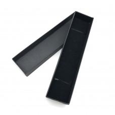 Коробочка подарочная 17х4 см. Цвет: черный. Артикул: 27-0.