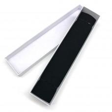Коробочка подарочная 25х5,5 см. Цвет: белый. Артикул: 34-0.