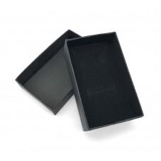 Коробочка подарочная 5х8 см. Цвет: черный. Артикул: 1-0.