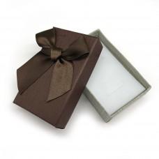 Коробочка подарочная 5х8 см. Цвет: школадный. Артикул: 3-0.